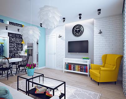 Квартира в Хабаровске 98м2