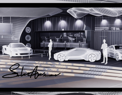 Car Design Exhibitation       My Graduation Project