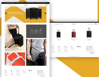 Luggage Website