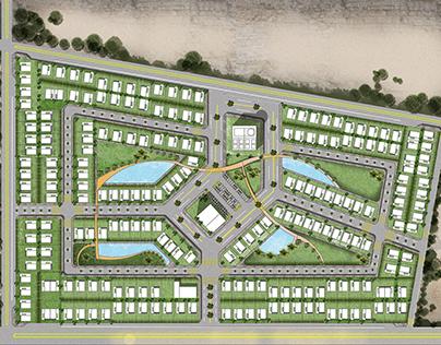 Villa compound Urban design