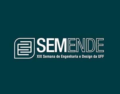Manual de Marca - XIX Semana de Engenharia e Design UFF