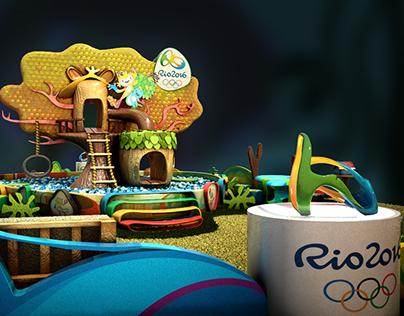 Casa dos Mascotes - Rio 2016