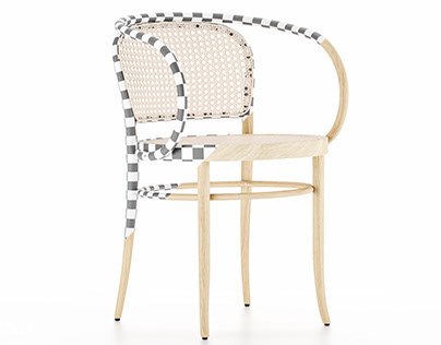 [FREE 3D MODEL] 210R Armchair Thonet