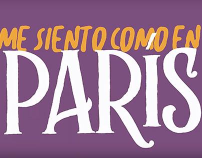"""Lyric Video //Juan Herrera """"Como en París"""""""