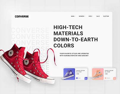 Converse | Redesign website