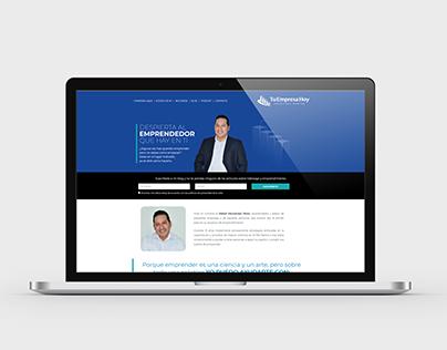 Tu empresa Hoy - Wordpress site