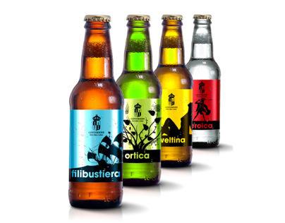 Centokiodi beer branding & packaging