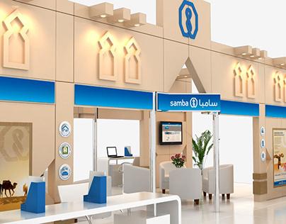 Bank Samba 3D Stand