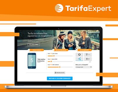 TarifaExpert - comparison site | responsive design