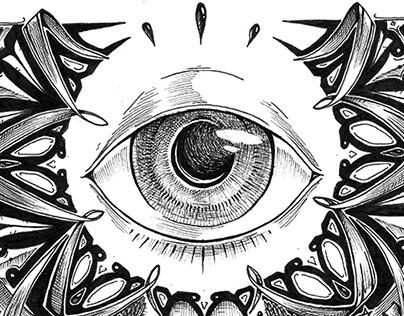 INK Work - the third eye