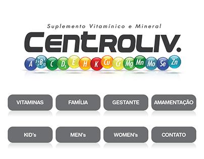 CENTROLIV - Hotsite