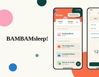 BAMBAM sleep! Coach & Tracker