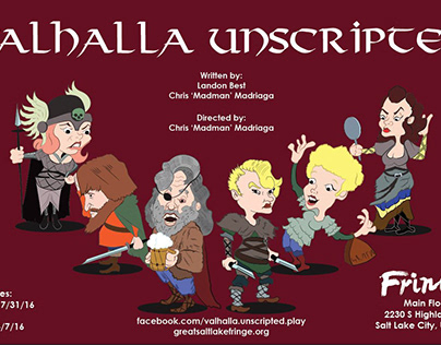 Valhalla Unscripted Play Promotional Design