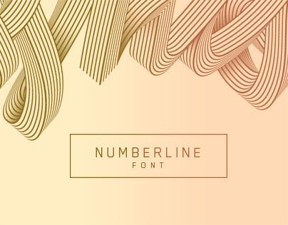 Numberline Font