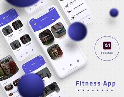 Fitness App \\ Freebie