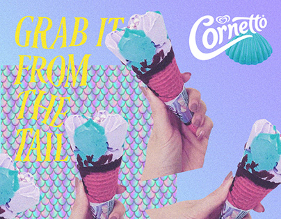 Cornetto mermaid Social Content