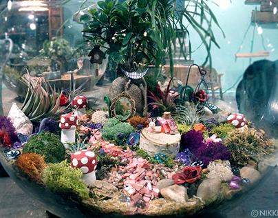 Alice in Wonderland Terrarium