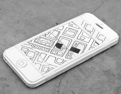 Paper Pop-up Phone