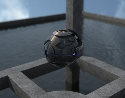 Sphere Assembly - CG animation