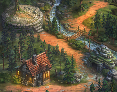 Location for mobile game