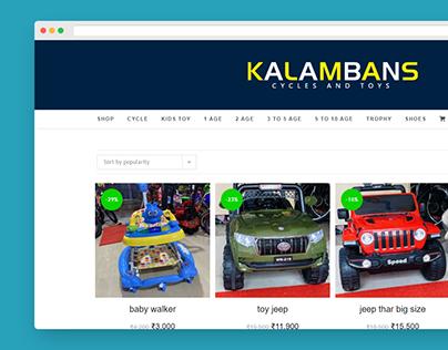 E-commerce Website Project for Shop