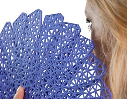 XIV-I // a parametric hand fan