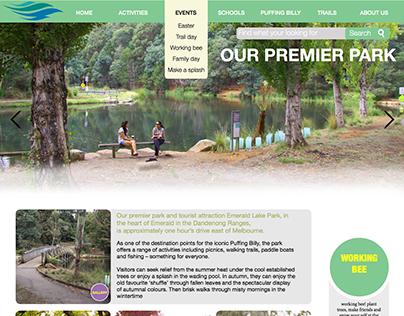 Website for Emerald Park
