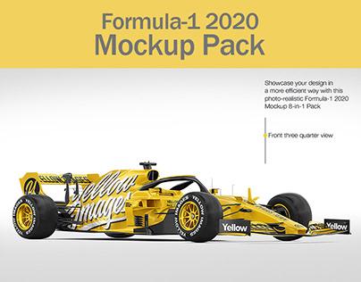 Formula-1 2020 Mockup Pack