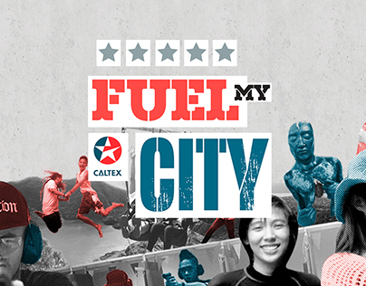 Caltex: Fuel My City Web Design