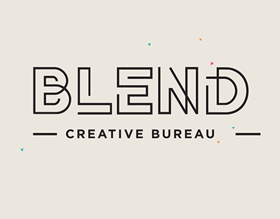Blend Creative Breau Logo animation