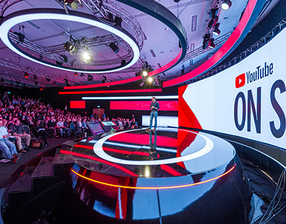 YouTube On Stage showcase at Dmexco Motionhall 2017