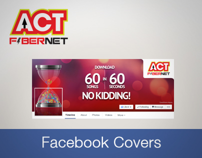 ACT Fibernet seamless facebook cover pics