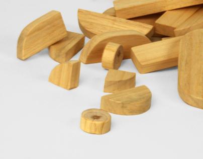 Bauhaus Wooden Blocks