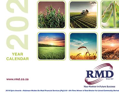 RMD 2020 Desk Calendar