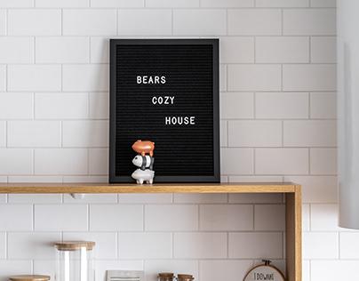 BEARS COZY HOUSE