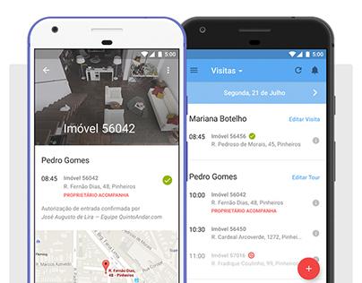QuintoAndar Corretores Android App
