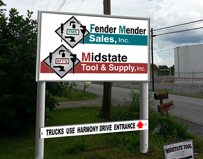 New Sign Project for Midstate Tool