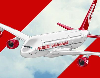 Air Algérie Rebranding