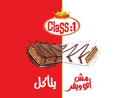 Class One ( Packaging Designs + Social Media Designs )