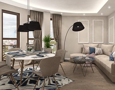 Serenity - Apartment Interior Design