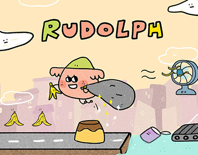 RUDOLPH! desktop interactive projection game|桌面互動投影遊戲