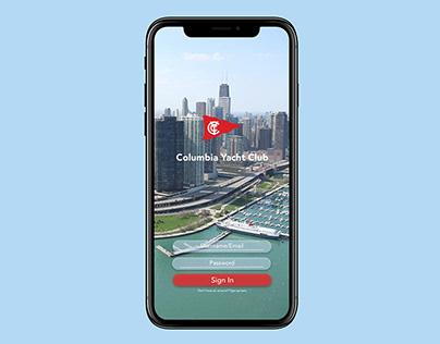 Columbia Yacht Club (Case - Study App)