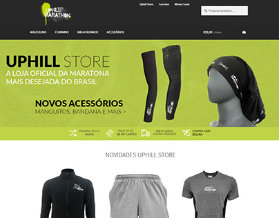 Uphill Marathon Ecommerce