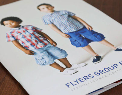 Flyers Group Clothing Brochures