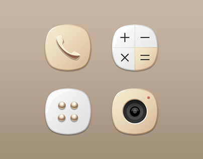 Samsung Galaxy Note7 Theme Icon Design