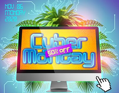 Cyber Monday – PSD Flyer Template
