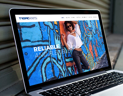 Tropic Knits - Website Design