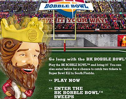 Burger King Bobble Bowl Game
