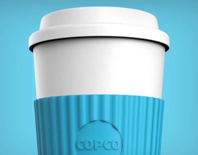 Reusable ToGo Coffee Cup