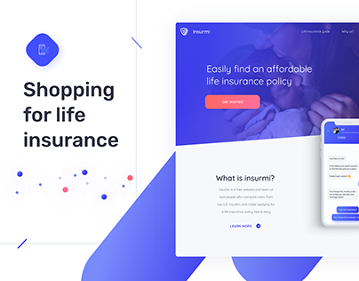 Insurmi - website redesign